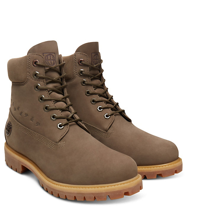 6 Inch Boot  Earth for Men in Brown-
