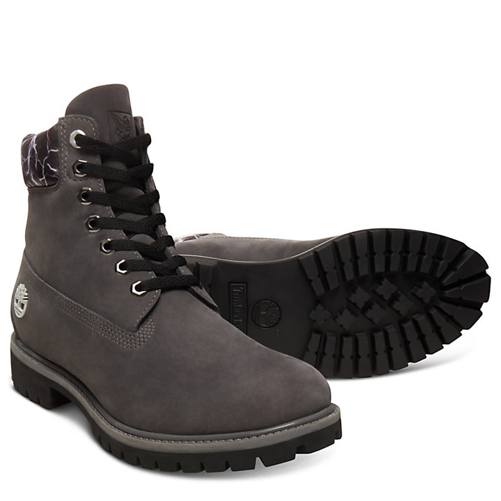 6 Inch Boot Air for Men in Grey-