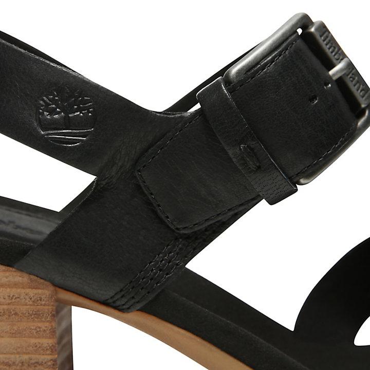 Sandale Tallulah May pour femme en noir-