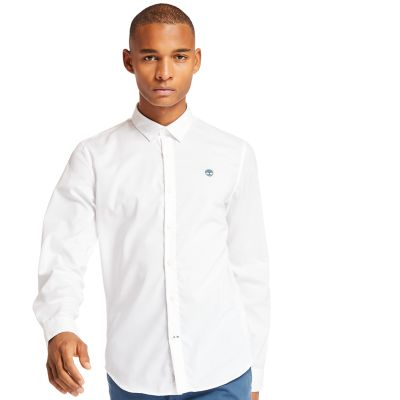 Suncook+River+Non-Iron+Shirt+for+Men+in+White