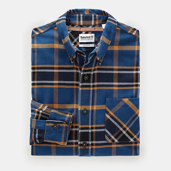 Back River Check Shirt voor Heren in geel-