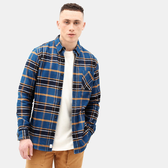 Back River Check Shirt for Men in Yellow | Timberland