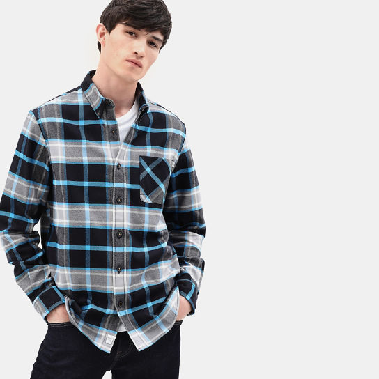 Back River Check Shirt for Men in Blue | Timberland