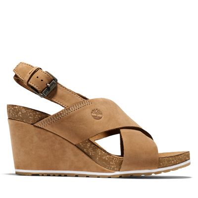 Capri+Sunset+Sandalette+f%C3%BCr+Damen+in+Braun