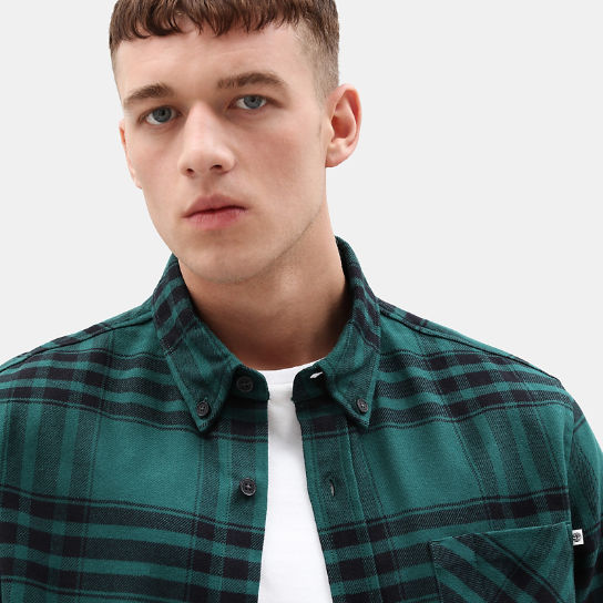 Back River Elbow Patch Shirt for Men in Green | Timberland