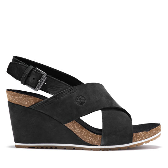 Capri Sunset Sandal for Women in Black | Timberland