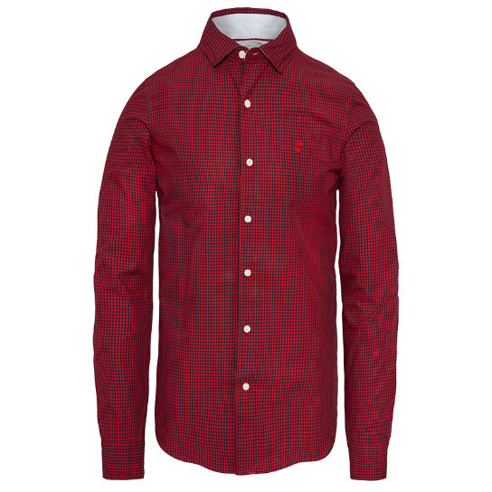 Suncook River Gingham Shirt Homme Rouge | Timberland