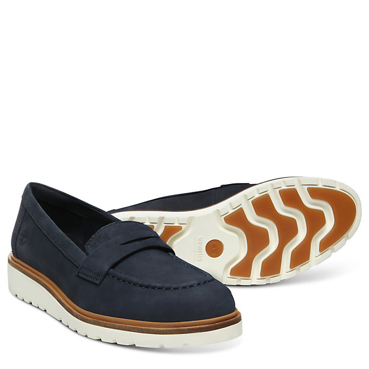 Ellis Street Loafer for Women in Navy