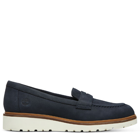 Ellis Street Loafer voor Dames in Marineblauw | Timberland
