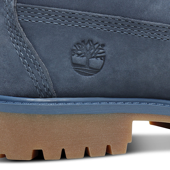 Premium 6 Inch Boot for Youth in Blue-