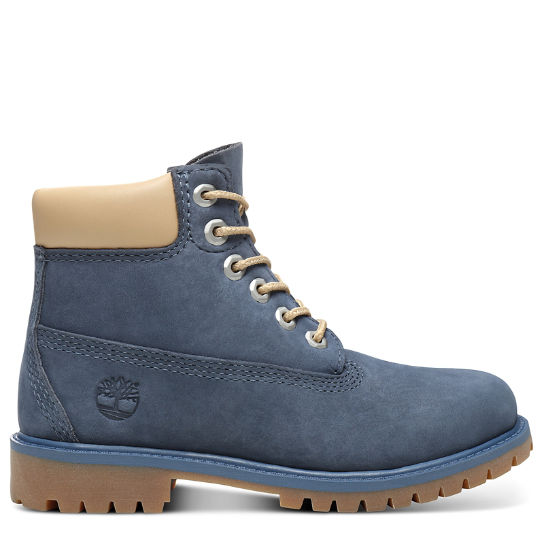 Premium 6 Inch Boot for Youth in Blue | Timberland