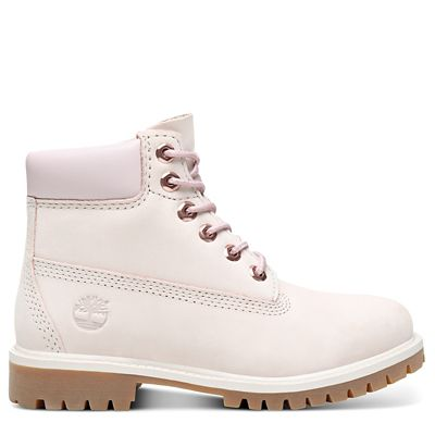 Premium+6+Inch+Boot+for+Youth+in+Light+Pink
