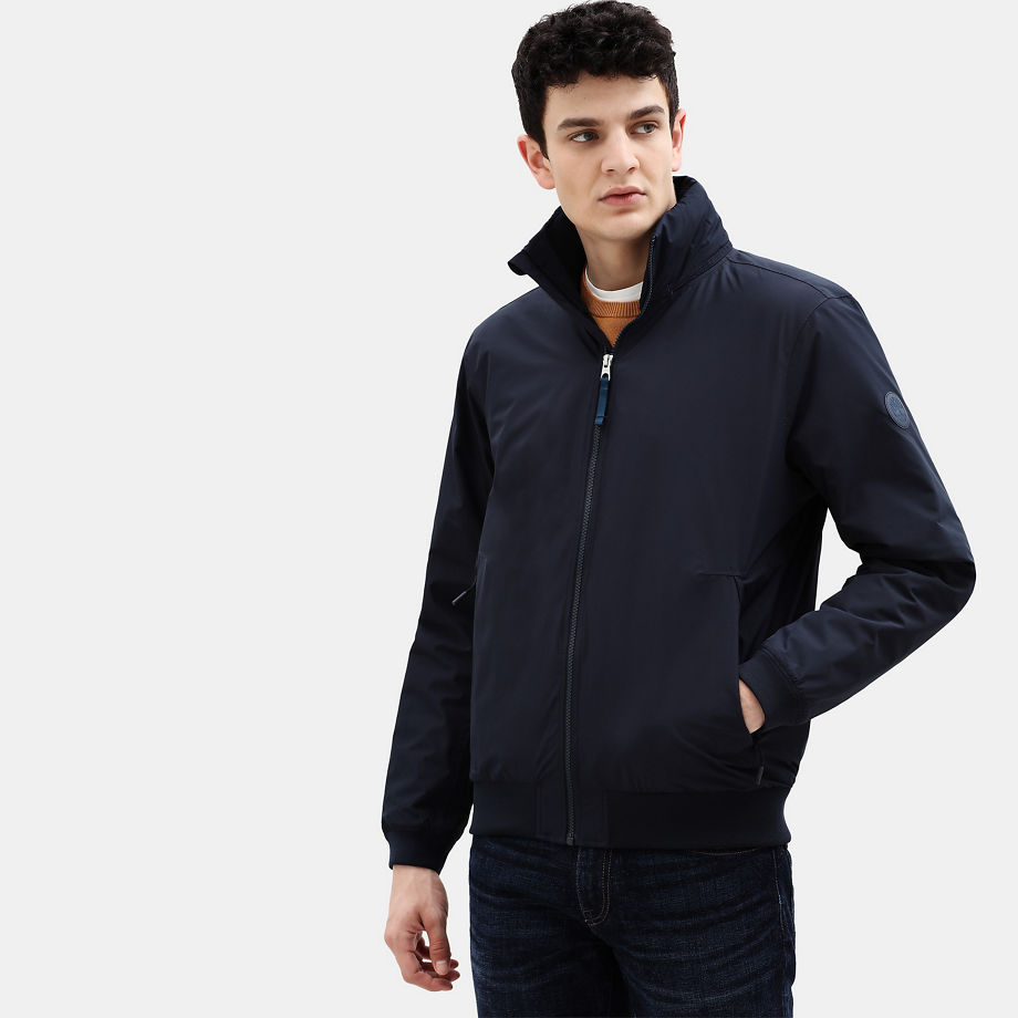 Timberland Mt Lafayette Sailor Bomber For Men In Navy Navy, Size S