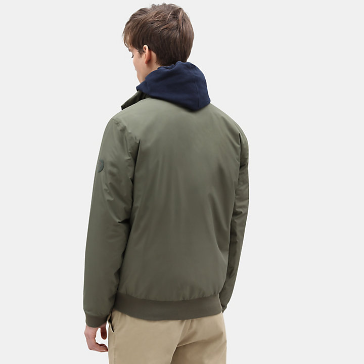 Mt Lafayette Sailor Bomber for Men in Green-