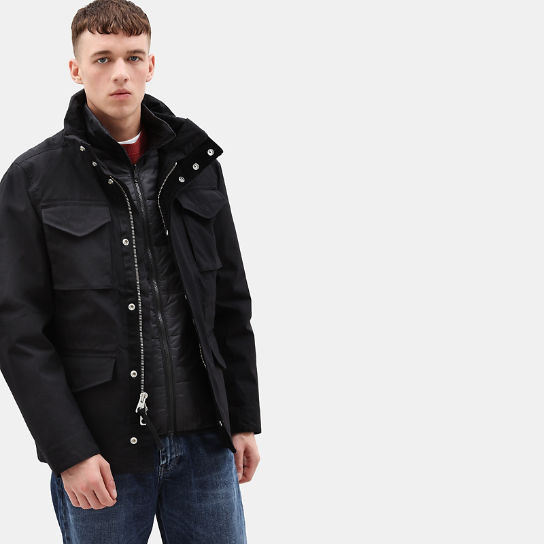 Snowdon Peak 3in1 M65 Jacket for Men in Black | Timberland