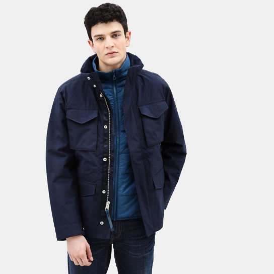 Snowdon Peak 3in1 M65 Jacket for Men in Navy | Timberland