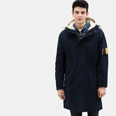 Mt.+Kelsey+Cotton+Parka+f%C3%BCr+Herren+in+Marineblau