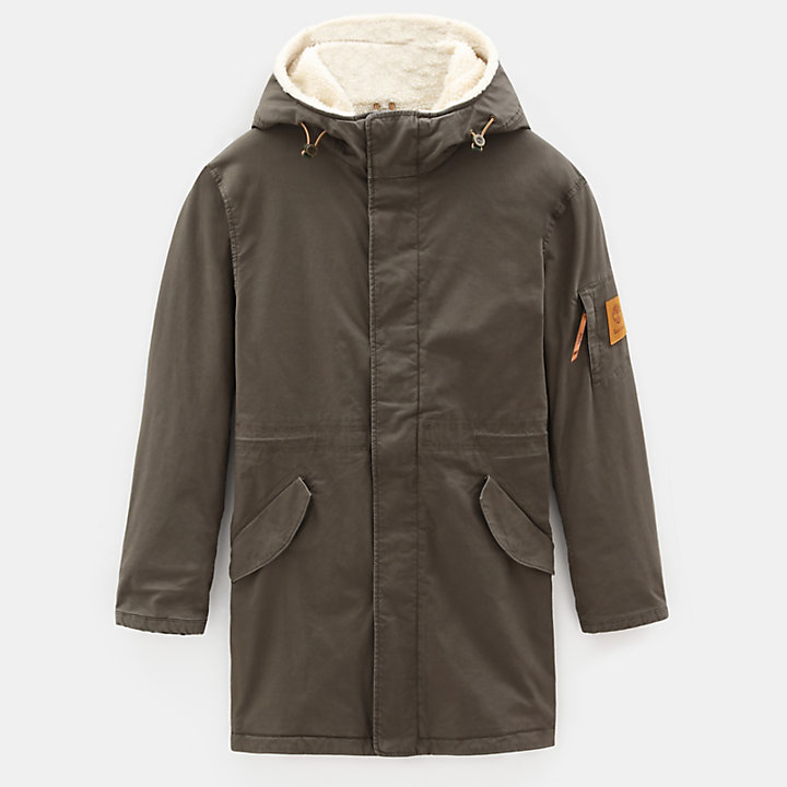 Mt. Kelsey Cotton Parka für Herren in Grün-