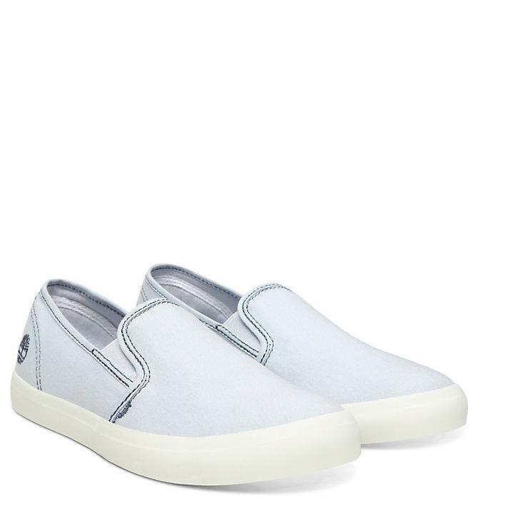 Newport Bay Slip-On Shoe for Women in Light Blue-