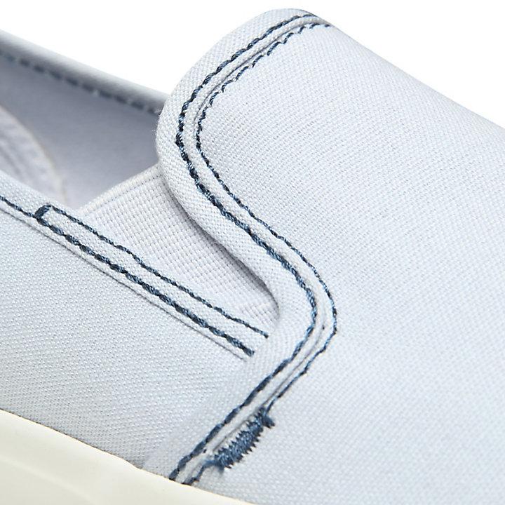 Zapatilla sin Cordones Newport Bay para Mujer en Azul Claro-