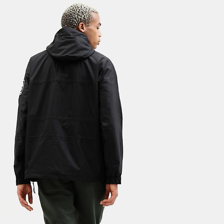 Anorak con Cappuccio da Uomo Outdoor Archive in colore nero-