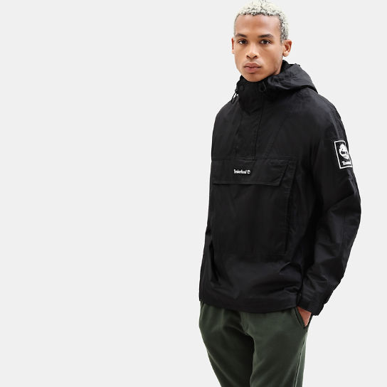Hooded Outdoor Archive Anorak for Men in Black | Timberland