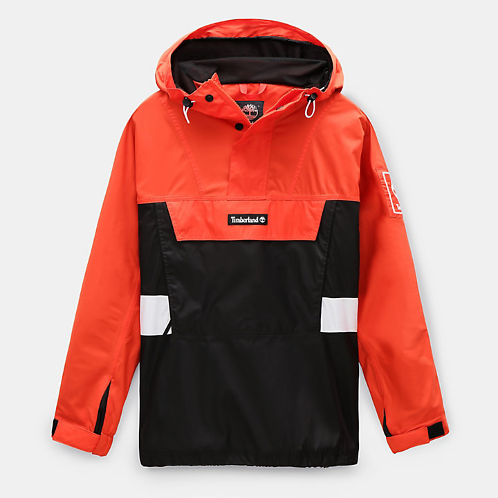 Outdoor Archive Kapuzenanorak für Herren in Orange-