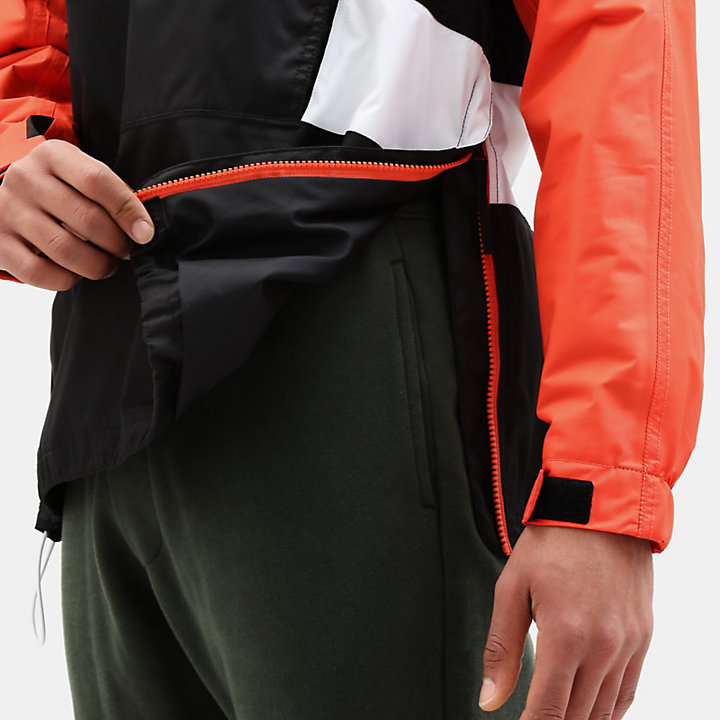 Anorak à capuche Outdoor Archive pour homme en orange-