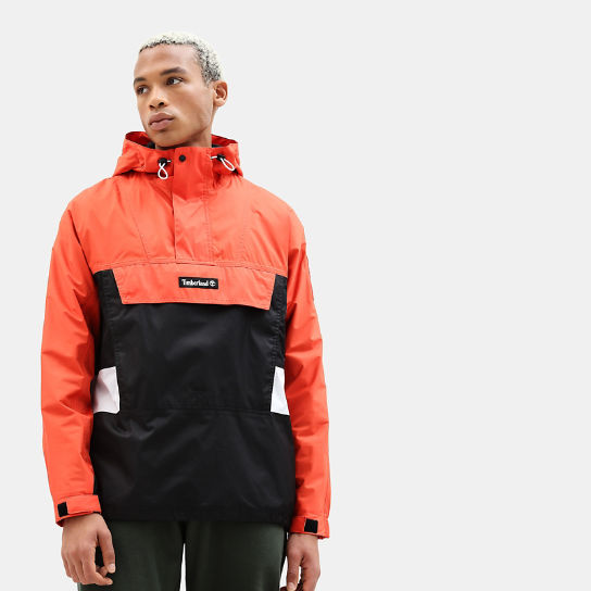Hooded Outdoor Archive Anorak for Men in Orange | Timberland