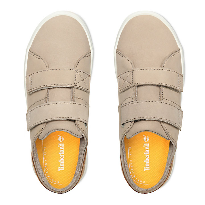 Newport Bay Leren Sneaker voor Kids in Beige-