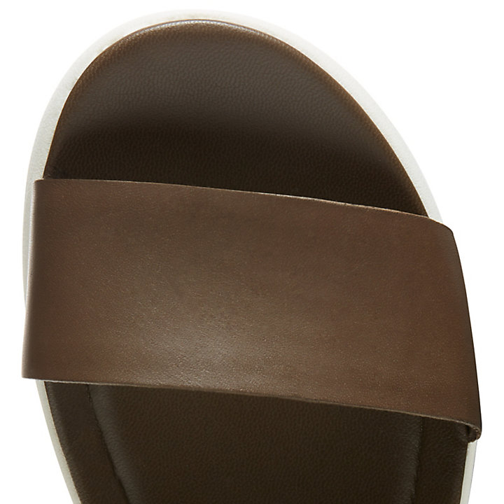 Sandale Los Angeles Wind pour femme en marron-