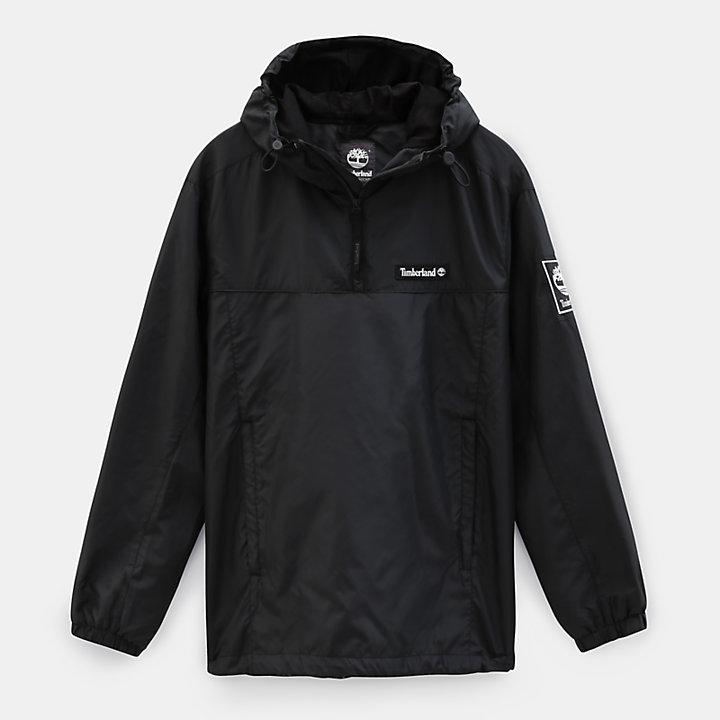 Coupe-vent pour homme en noir-