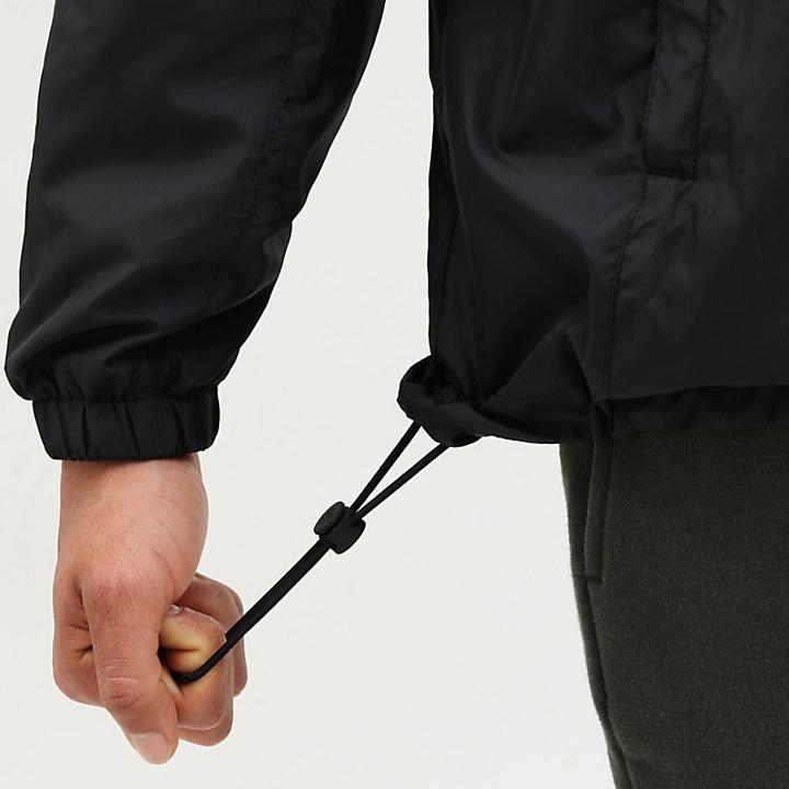 Windbreaker voor Heren in zwart-