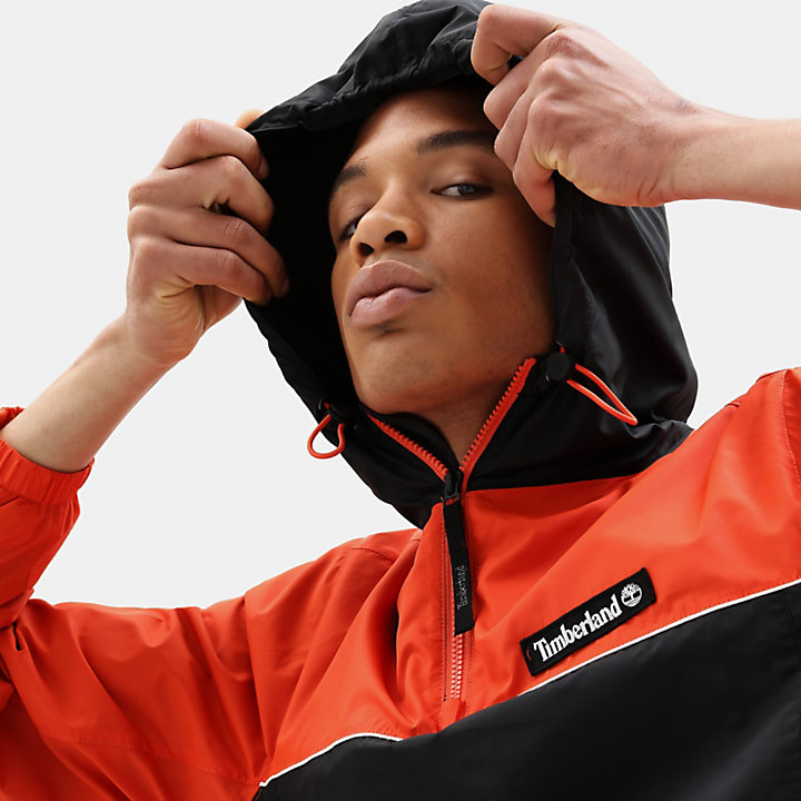 Windbreaker for Men in Orange-