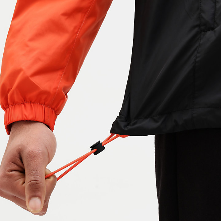 Windbreaker voor Heren in oranje-