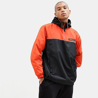 Windbreaker+voor+Heren+in+oranje