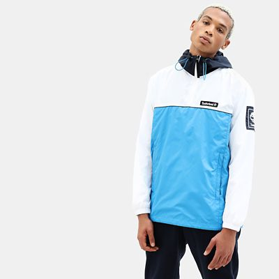 Windbreaker+voor+Heren+in+marineblauw