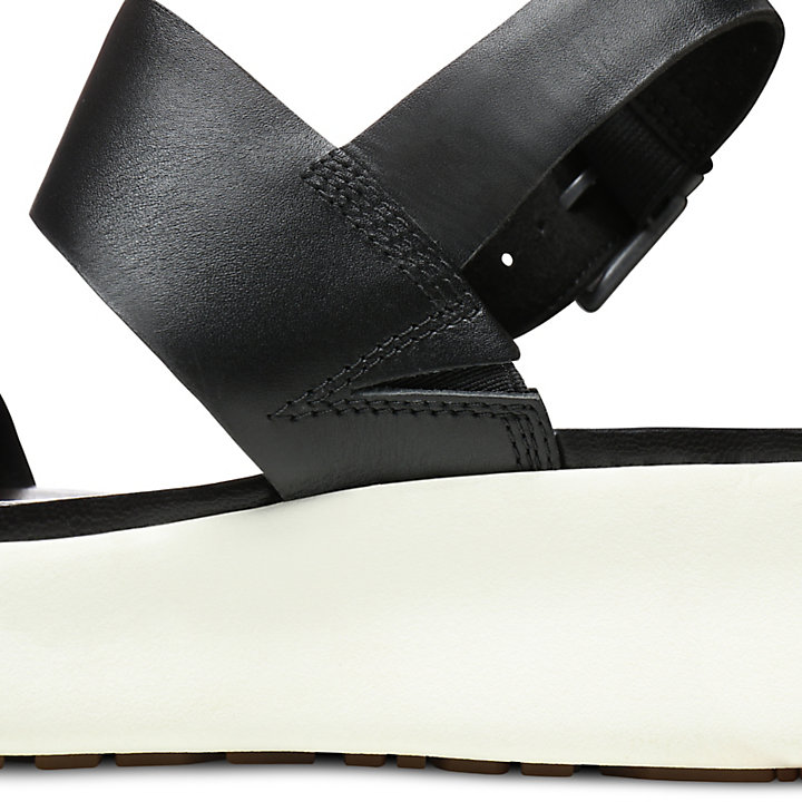 Los Angeles Wind Sandal for Women in Black-