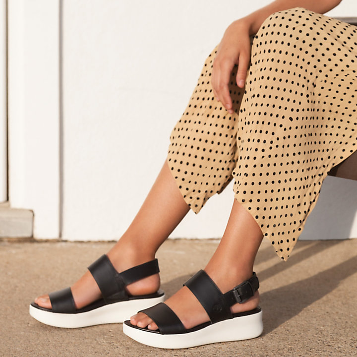 Los Angeles Wind Sandal For Women In Black Timberland