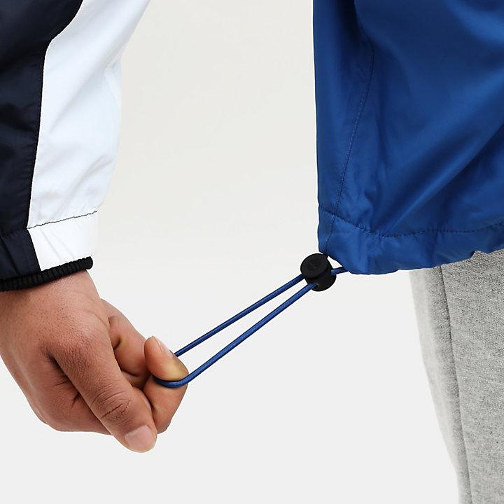 Giacca a Vento da Uomo con Zip in blu/blu marino-