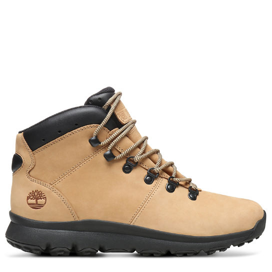 World Hiker Mid Boot for Men in Beige | Timberland