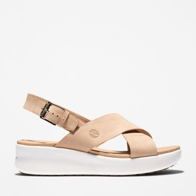 Los+Angeles+Wind+Slingback+for+Women+in+Beige