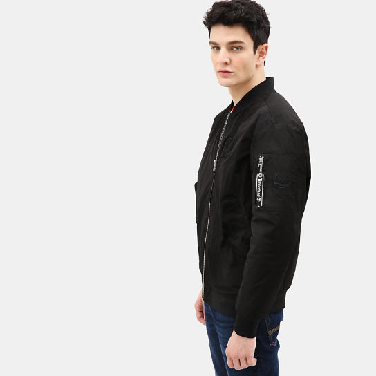 Bomber Jacket for Men in Black | Timberland