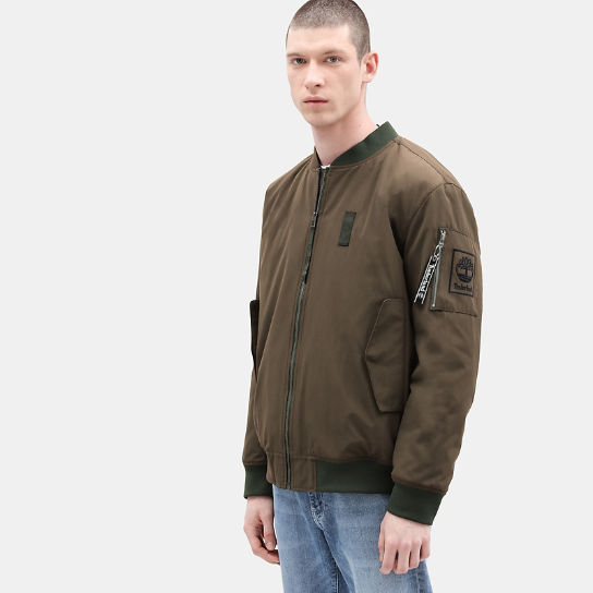 Bomber Jacket for Men in Green | Timberland
