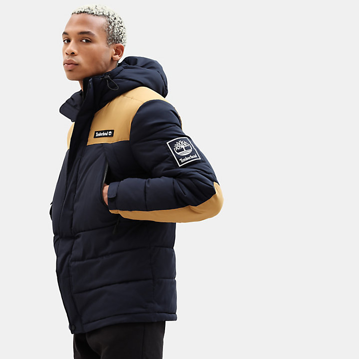 Outdoor Archive Puffer Jacket for Men in Navy-