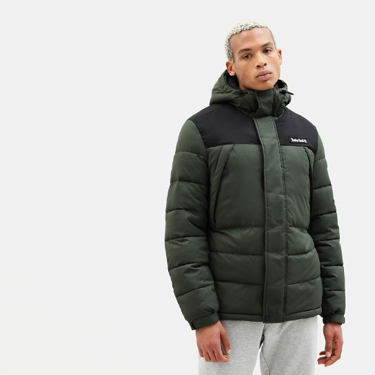 Outdoor Archive Puffer Jack voor Heren in groen | Timberland