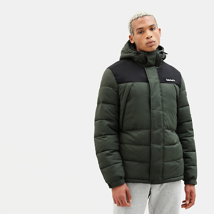 Outdoor Archive Puffer Jack voor Heren in groen-