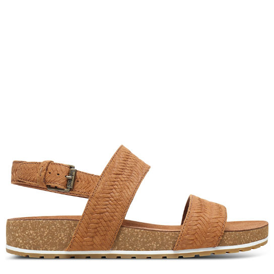 Malibu Waves 2-Band Sandal for Women in Brown | Timberland