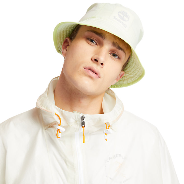 Bucket Hat for Men in Light Yellow-