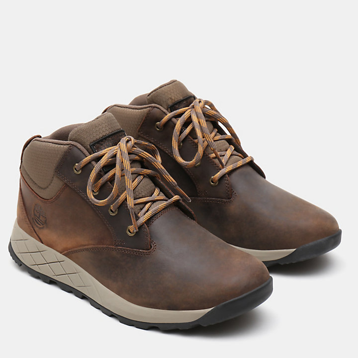 Tuckerman Chukka for Men in Dark Brown-